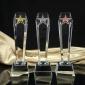 奖杯刻字水晶大拇指奖杯 畅销款式 经典定制 奖杯订做 水晶奖杯订做各种奖杯