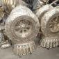 文海雕塑山东小品文化铜雕 开荒牛雕塑各种尺寸规格